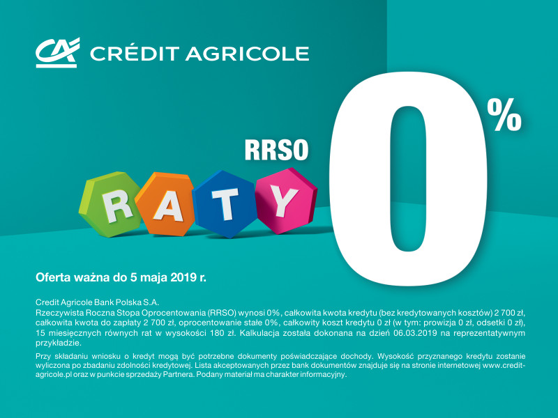 Raty Credie Agricole 2
